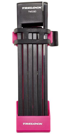 Trelock FS 200 TWO.GO L Cykellås 100 cm pink